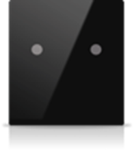 Picture of MONA 2 BUTTON SWITCH BLACK