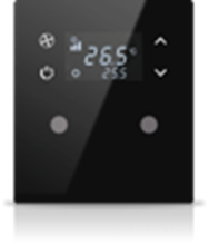 Picture of MONA 2 BUTTON THERMOSTAT BLACK