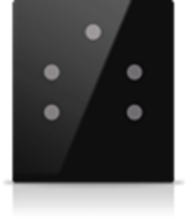 Picture of MONA 5 BUTTON SWITCH BLACK