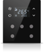 Picture of MONA 5 BUTTON THERMOSTAT BLACK
