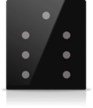 Picture of MONA 7 BUTTON SWITCH BLACK