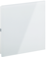 Picture of Rosa Crystal Switch Single White Status No Icon