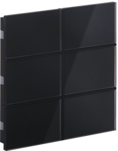 Picture of Rosa Crystal Switch 3F Black Status No Icon