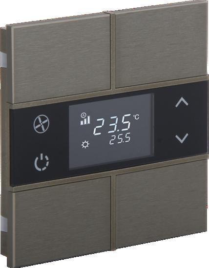 Picture of Rosa Metal Thermostat 2F Bronze Status No Icon