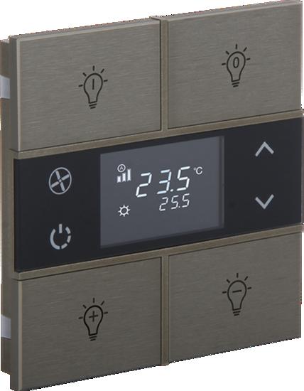 Picture of Rosa Metal Thermostat 2F Bronze Status Icon