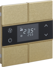 Picture of Rosa Metal Thermostat 2F Gold Status No Icon