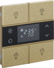 Picture of Rosa Metal Thermostat 2F Gold Status Icon