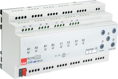 Picture of KNX Room Control Unit 8ch, Fancoil, Switch, Blind actuator