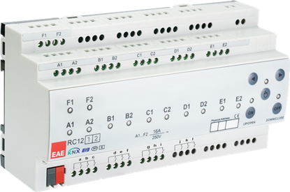 Picture of KNX Room Control Unit 12ch, 12 Input, Fancoil, Switch, Blind actuator