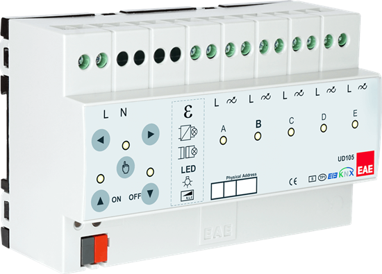 Picture of KNX 5 x 300VA Universal Dimmer