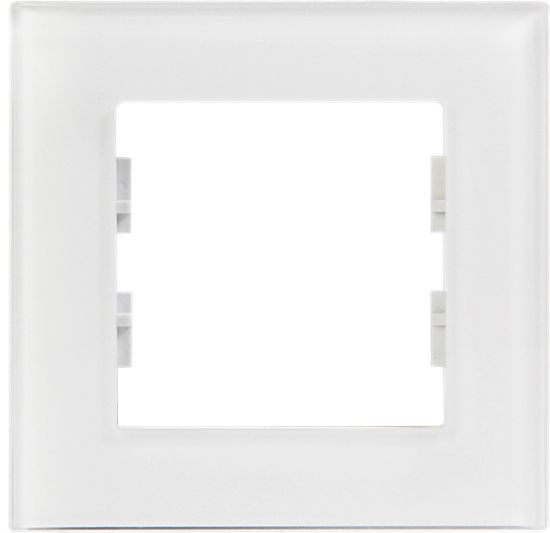 Picture of ROSA GLASS FRAME SINGLE PEARL WHITE
