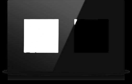 Picture of MONA  FRAME MODULAR EUROPEAN DOUBLE 2M BLACK