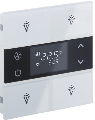 Picture of Rosa crystal thermostat 2 (fold)