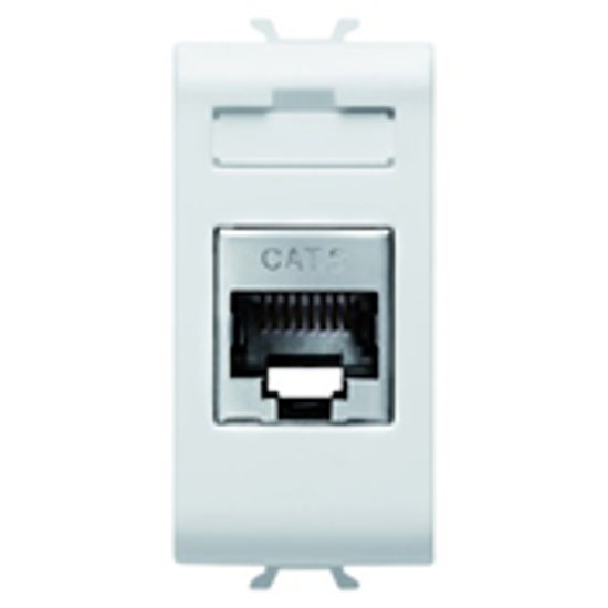 Picture of CONNECTOR RJ45 1M CAT.6 FTP CHORUS PEARL WHITE