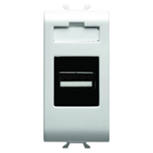 Picture of USB SOCKET OUTLET 1 M PEARL WHITE