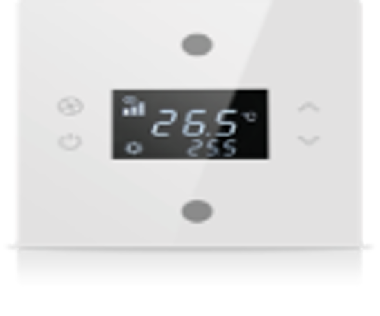 Picture of Rosa Solid Thermostat 1F White