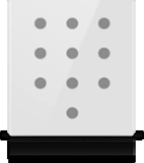 Picture of MONA 10 BUTTON SWITCH WHITE