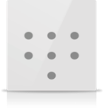 Picture of MONA 7 BUTTON SWITCH WHITE
