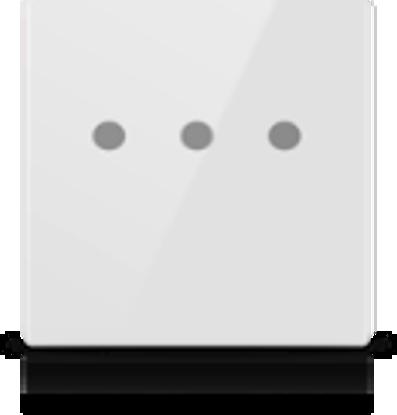 Picture of MONA 3 BUTTON SWITCH WHITE