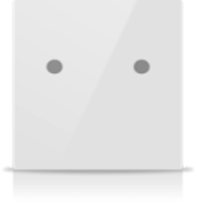 Picture of MONA 2 BUTTON SWITCH WHITE