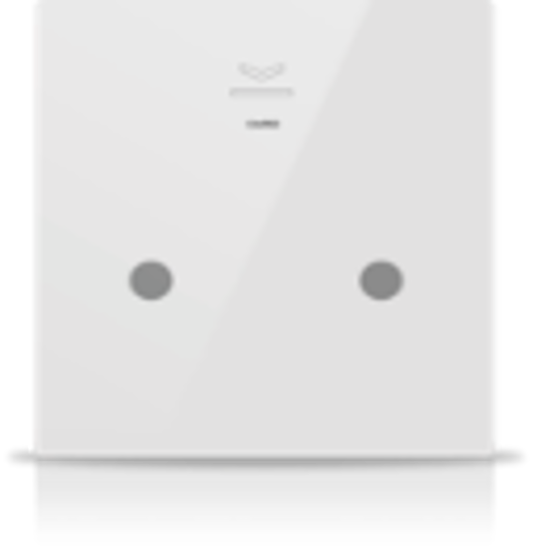Picture of MONA 2 BUTTON CARD HOLDER WHITE