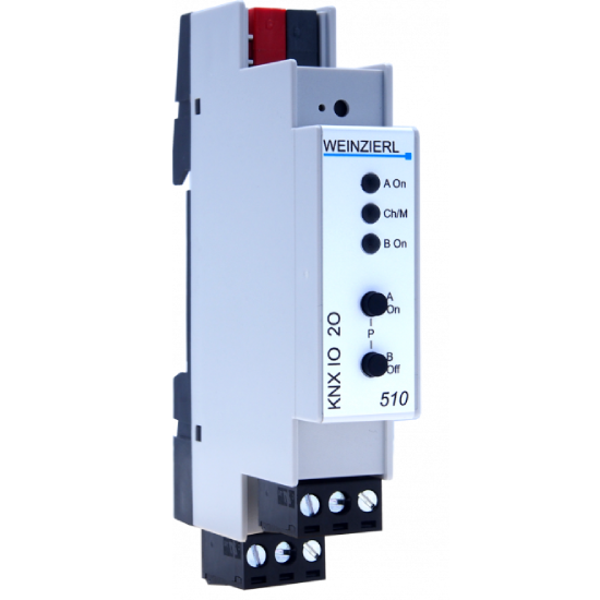 Picture of Weinzierl KNX IO 510 Switch actuator 2-fold