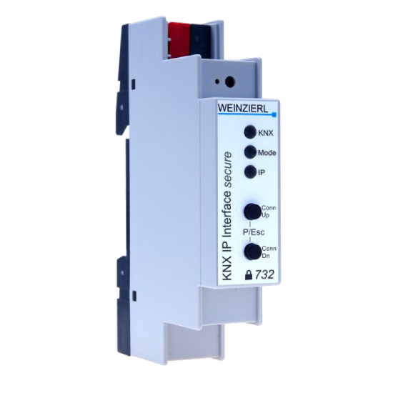Picture of Weinzierl KNX IP Interface 732 secure interface with security