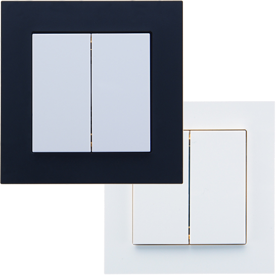 Picture of Weinzierl Glass frame Fusion 1-fold white - frame for series MATCH 55
