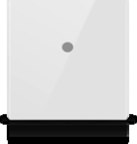 Picture of MONA 1 BUTTON SWITCH WHITE