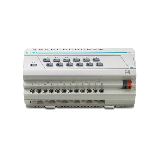 Picture of 12 Channel Knx Combo Switch Actuator