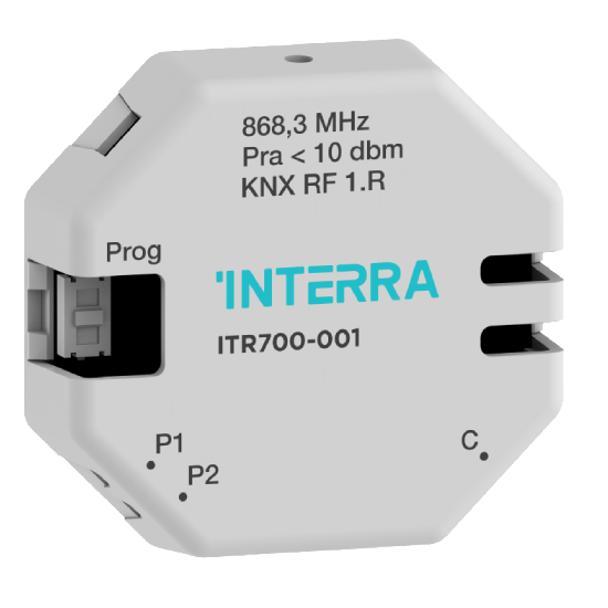 Picture of 2 Channel KNX Push Button Interface