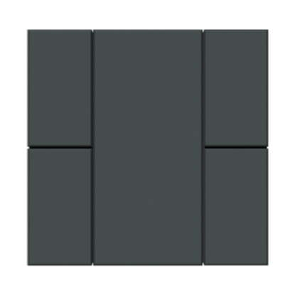Picture of iSwitch - 4 Button Anthracite Matt Plastic