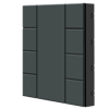Picture of iSwitch - 8 Button Anthracite Matt Plastic