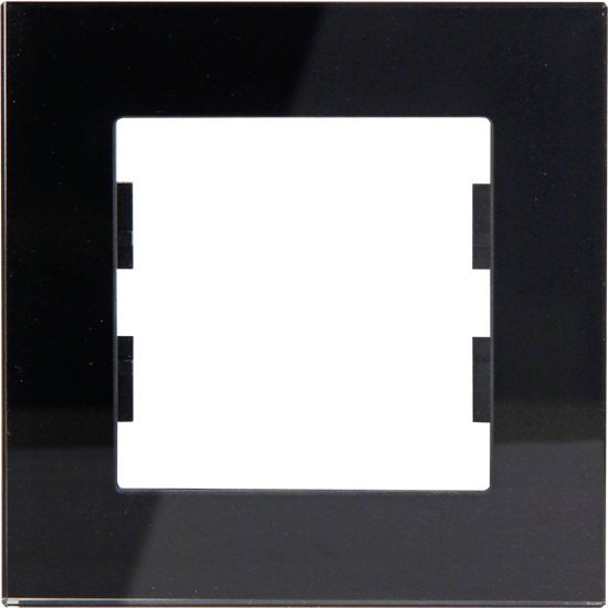 Picture of ROSA GLASS FRAME 1 GANG ANTHRACITE