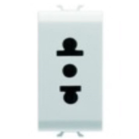 Picture of S. OUTLET 1M 2P+E 15A USA PEARL WHITE