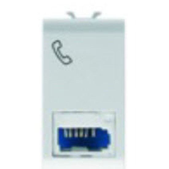 Picture of TELEPHONE CONNECTOR BRITISH ST PEARL WHITE