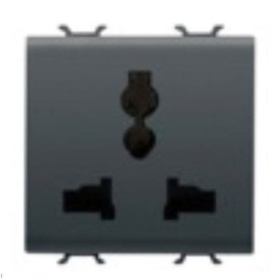 Picture of UNIVERSAL SOCKET 2M ANTHRACITE