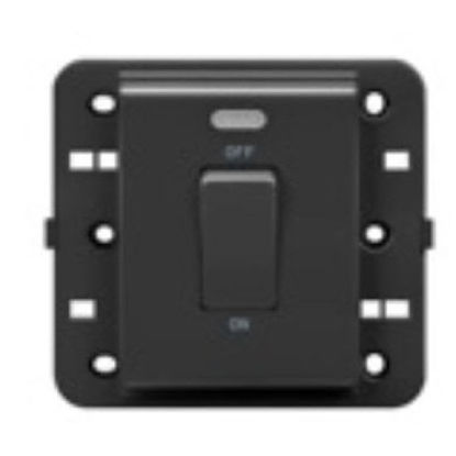 Picture of 1 WAY SWITCH 2P 250V BRITISH STAND.20A ANTHRACITE