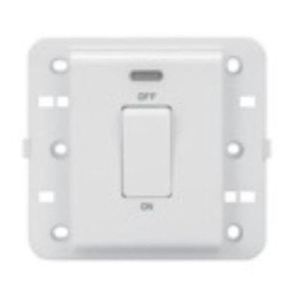 Picture of 1 WAY SWITCH 2P 250V BRITISH STAND.20A PEARL WHITE