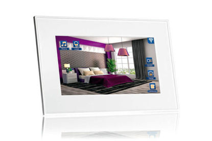 """Picture of VIIP-7W-7,1"""" KNX touch Screen + WiFi + SIP - White"""