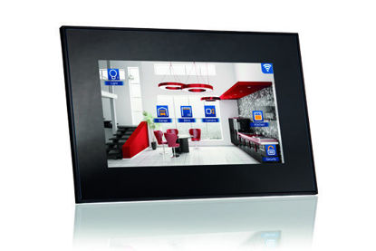 """Picture of VIIP-10E-10,4"""" KNX touch Screen + WiFi + 1xRJ45 + SIP - Black"""