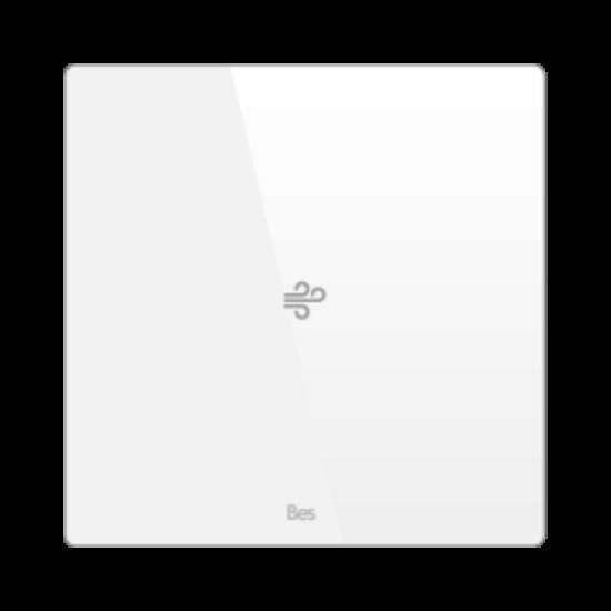 Picture of Square thermostat - Temperature sensor - Basic white